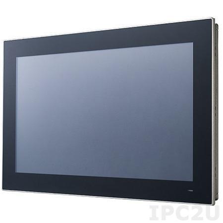 "PPC-3181SW-P65A Панельная рабочая станция с 18.5"" TFT LCD, Intel Core i5-6300U 2.4 ГГц, 1xSODIMM DDR4 1866/2133 МГц, емкостной сенсорный экран, 2xGb LAN, HDMI, 2xCOM, 4xUSB, SATA III, mSATA, 1xMini PCIe, питание 12-24 В DC"