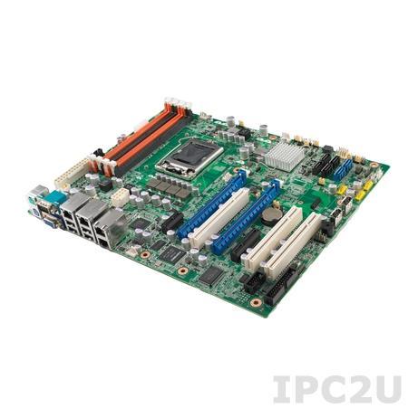ASMB-781G2-00A1E Серверная плата ATX для Intel Xeon-E3, LGA 1155, Intel C206, 4x240-pin DIMM DDR3, 3xPCI, 1xPCIe x1, 1xPCIe x4, 2xPCIe x16, 10xUSB, 2xCOM, VGA, 2xRJ-45