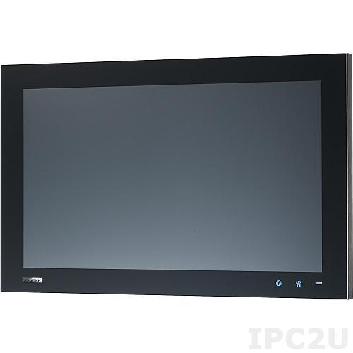 "IPPC-5211WS-J3AE Безвентиляторная панельная рабочая станция с 21.5"" Full HD TFT LED LCD, емкостный сенсорный экран, Intel Celeron J1900 2.00ГГц, 4Гб DDR3L, 2xCOM, 2xUSB, 2xGbE LAN, 1xMini PCIe, питание 21-27В DC"