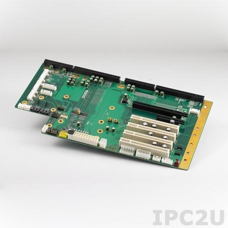 PCE-5B07-04A1E Объединительная плата PICMG 1.3 7 слотов, 1xPICMG 1.3, 4xPCI, 1xPCI Express x16, 1xPCI Express x4