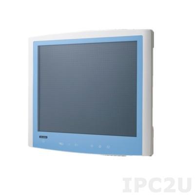 "POC-S199-B11D-ACE Безвентиляторная медицинская рабочая станция 19"" LCD, емкостный сенсорный экран, Intel Core i5-6300U 2.4ГГц, 4Гб DDR4 SODIMM, 500Гб HDD SATA, 1xHDMI, 1xDP, 2xCOM, 4xUSB, 2xLAN, 2xMini PCIe, 1xPCIe, Аудио, Bluetooth"