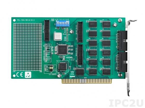 PCL-720+-BE Плата ввода-вывода ISA, 32DI, 32DO