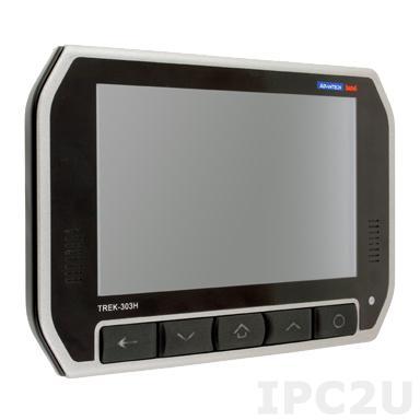 """TREK-303D-HA0E Монитор для транспорта с 7"""" TFT LCD c IP31 по всему корпусу, IP54 с крышкой, 800x480, резистивный сенсорный экран, Smart Display port, 1xUSB 2.0, питание 12В DC"""