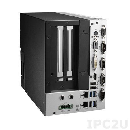 """ARK-3405R-S6A1E Компактный компьютер с Intel Celeron N3160, DDR3L, VGA/DVI-D/HDMI, 2xGbE, 4xCOM, 3xUSB 3.0, 3xUSB 2.0, 2 отсека 2.5"""" SATA HDD, DIO, audio, 2xPCI, 2xMiniPCIe со слотом SIM, слот SD,питание 9...36В DC"""