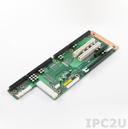 PCE-5B05-02A1E Объединительная плата PICMG 1.3, 5 слотов, 1xPICMG 1.3, 1xPCIe x16, 1xPCIe x4, 2xPCI