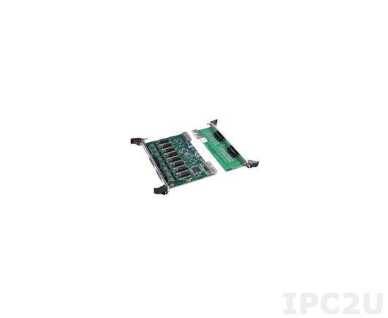 MIC-3621RIOE Многофункциональная плата 6U cPCI, 8 портов RS232/422/485, RIO
