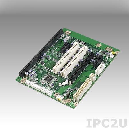 PCE-3B06-02A1E Объединительная плата половинной длины PICMG 1.3, 6 слотов, 1xPICMG 1.3, 1xPCIe x16, 2xPCIe x1, 2xPCI