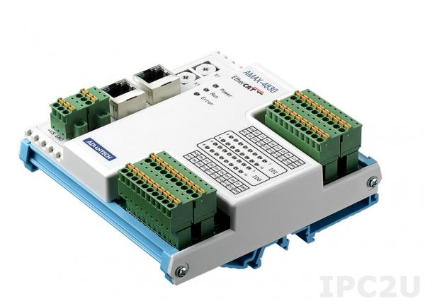 AMAX-4850-AE Модуль ввода-вывода Ethercat, 16 каналов дискретного ввода, 8 каналов PhotoMOS, изоляция 2500В