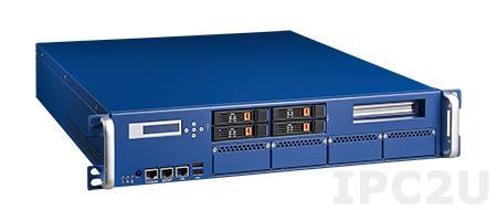 "FWA-4231-00A1E Сервер сетевой безопасности, Intel Xeon E3 v3/4th gen Core, C226, 4x240-pin DDR3 1600MHz UDIMM, VGA, 2xGbE, 2x2.5"" SATA, 1x3.5"" SATA, 1x mSATA, 1xPCIe x8, 4xNMC, источник питания 350Вт 1+1"