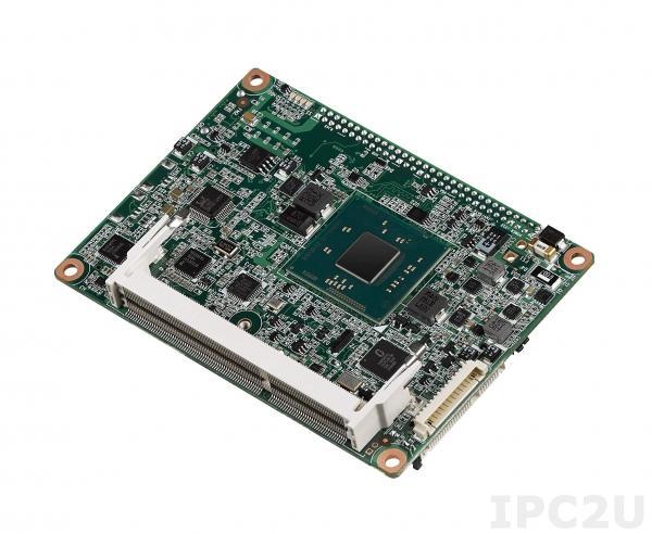 MIO-3260LZ22GS3A1E Процессорная плата Pico-ITX с процессором Intel Atom E3825 1.33ГГц, 2Гб DDR3L, 18/24-bit LVDS, VGA, DP/HDMI, GbE, Mini PCIe, 4xUSB, 2xCOM, SMBus, I2C, mSATA, MIOe, -40...+85C