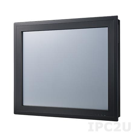 "PPC-3190-RE4AE Безвентиляторная панельная рабочая станция с 19"" TFT SXGA LCD LED, резистивный сенсорный экран, Intel Atom E3845 1.91ГГц, 1x204-pin DDR3L, 1x2.5"" SATA отсек, VGA, DP, 2xGbE LAN, 2xCOM, 1xUSB 3.0, 3xUSB 2.0, 1xPCI, Аудио, питание 9-32В DC"
