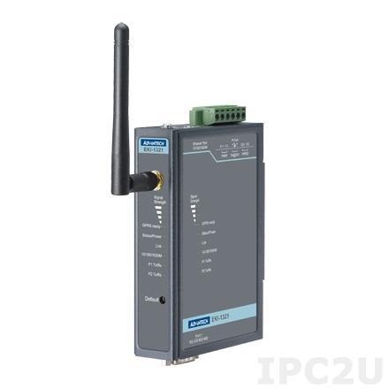 EKI-1321-AE Шлюз передачи данных, 1 порт RS-232/422/485, GSM/GPRS 850/900/1800/1900МГц
