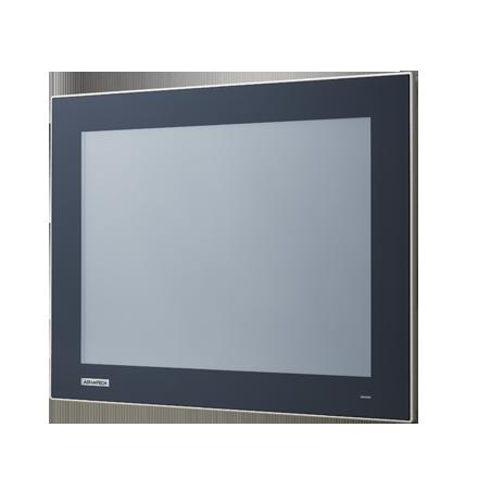 "TPC-315-R873A Панельная рабочая станция с 15"" XGA TFT LCD, Intel Core i7-8665UE 1.7ГГц, 8Гб DDR4, DP, 2xGbE LAN, 2xCOM, 4xUSB 3.2, 1xUSB 2.0, miniPCIe, M.2 M-Key, M.2 B-Key, отсек 2.5"" SATA SSD, iDoor, Audio"
