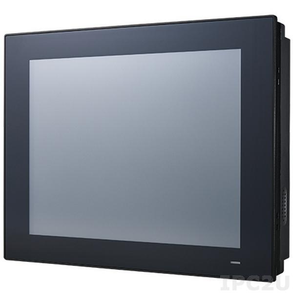 "PPC-3120-RE9A Панельная рабочая станция с 12.1"" TFT XGA LED, резистивный сенсорный экран, Intel Atom E3940, DDR3L, VGA, HDMI, 2xGbE LAN, 5xCOM, 4xUSB 3.0, 1x2.5"" SATA HDD, mSATA, 1xMini PCIe, питание 9...32В DC, IP65 по передней панели"