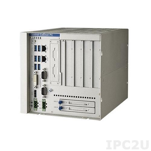 """UNO-3285G-674AE Встраиваемый компьютер c Intel Core i7-6822EQ 2.0ГГц, 8Гб DDR4 RAM, DVI-I, HDMI, 2xGB LAN, 2xRS-232/422/485, 1xRS-422/485, 6xUSB 3.0, 2x PCIex8, 2x PCI, 2x mPCIe, mSATA, 2x 2.5"""" SATA HDD (RAID 0/1), 10...36В DC-in"""