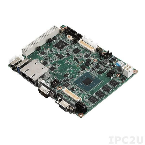 "PCM-9365EV-4GS3A1E Процессорная плата формата 3.5"" с Intel Atom E3825, 4Гб DDR3L, LVDS, VGA, HDMI, 2xGb LAN, 4xCOM, USB 3.0, SMBus/I2C, 1xMini-PCIe, Audio"