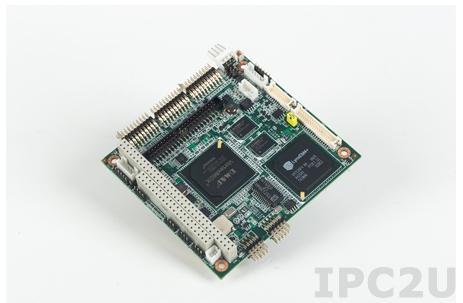 PCM-3343Z2-256A1E PC-104 процессорная плата с DM&P Vortex86DX 800МГц, 256Мб RAM, CRT/LVDS, LAN, -40...+85C