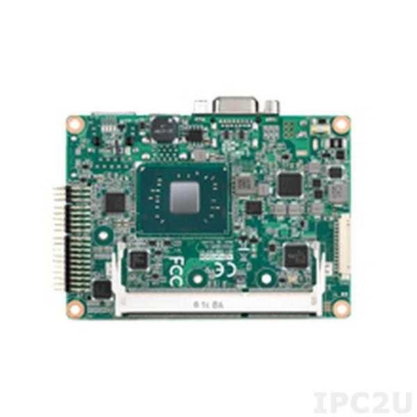 MIO-2360N-S1A1E Процессорная плата Pico-ITX с Intel Celeron N3350, DDR3L, 24-bit LVDS/VGA, GB LAN, 2xCOM, 2xUSB 3.0, 2xUSB 2.0, mSATA, SATA III, MIOe, MiniPCIe