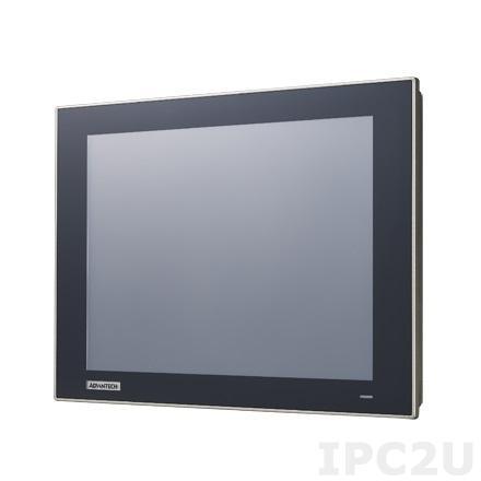 "WOP-3120T-C4AE Панель оператора с 12"" WSVGA TFT LCD, IP66 по передней панели, процессор ARM Cortex A8 600МГц, 256Мб RAM, LAN, 3xCOM, CAN, Windows CE 6.0, -20...+60C, 24VDC-in"
