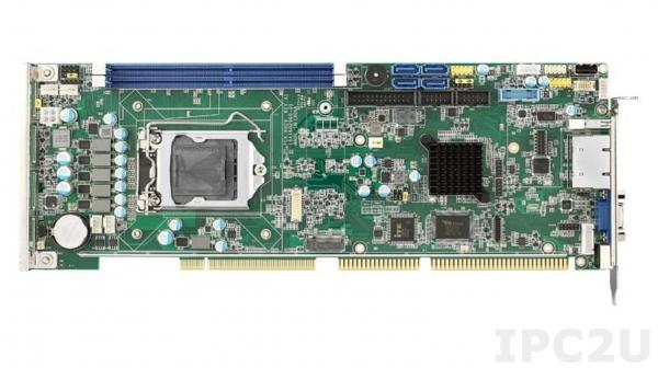 PCA-6029G2-00A2 Процессорная плата, разъем LGA1151 для Intel Core i7/i5/i3/Pentium, DDR4, VGA/DVI-D/DP, 2xGbE LAN, 2xCOM, 1xUSB 3.0, 7xUSB 2.0, GPIO, 4xSATA