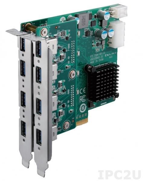 PCE-USB8-00A1E PCI Express x4 плата расширения, 8 портов USB 3.0, 5В