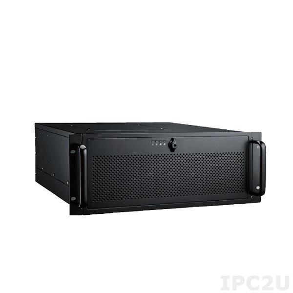 HPC-7400-S813 Высокопроизводительный 4U cервер c поддежкой Intel Xeon E5, до 256 Гб DDR3 1600/1866/2133 МГц, 2x 3.5'' HDD 3x 5.25'' HDD, 2x GbE LAN, 4xUSB, 2x PCIe x16, PCIe x8/x4/x1, источник питания 1400 Вт