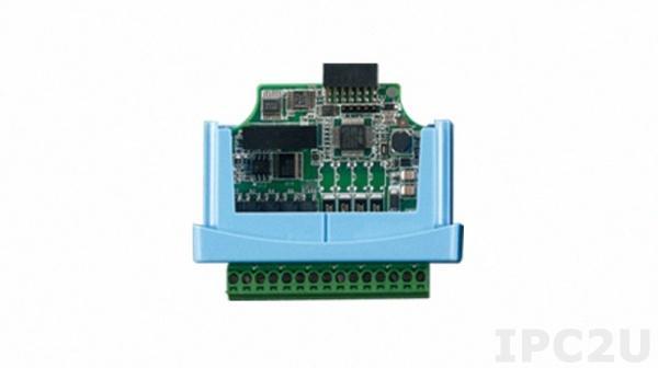 WISE-S214-A Модуль ввода, 4 канала аналогового ввода, 4 канала дискретного ввода, для модулей ввода-вывода WISE-4220