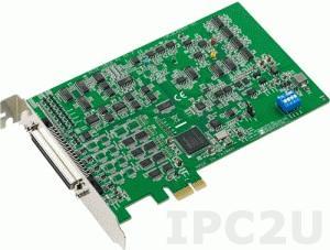PCIE-1816-AE Плата ввода-вывода PCI Express, 16SE/8D AI, 2AO, 24DIO