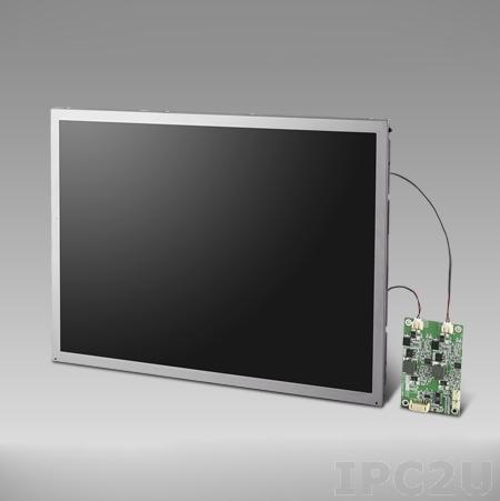 "IDK-2115N-K2XGB1E 15"" LCD 1024 x 768 Open Frame дисплей LED, 1200нит, LVDS"