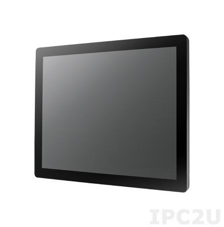 """IDP31-190-P35HIB1E 19"""" LCD 1280 x 1024 промышленный монитор ProFlat, IP54 по передней панели, 350нит, VGA, DVI, HDMI, вход питания 12В DC, проекционно-емкостный сенсорный экран (USB)"""