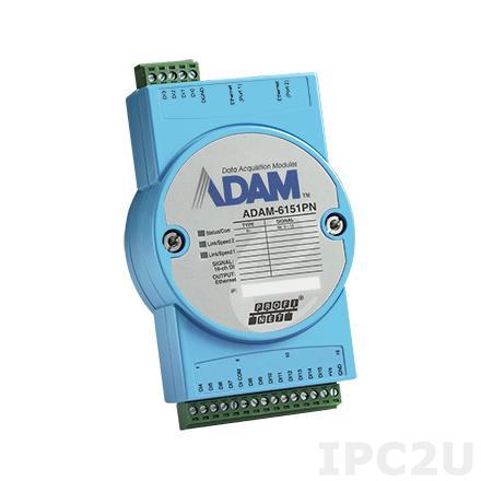 ADAM-6156PN-AE Модуль вывода, 16 каналов дискретного вывода, PROFINET