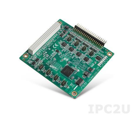 PCM-3612I-AE PCI-104 адаптер 4xRS-232/422/485 разъем 40-pin header без изоляции