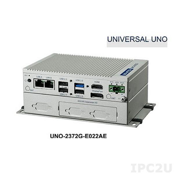 "UNO-2372G-J021AE Встраиваемый компьютер c Intel Celeron J1900 2.0ГГц, 4Гб DDR3L, HDMI/DP, 2xGbE LAN, 4xCOM, 1xUSB 3.0, 3xUSB 2.0, 2x MiniPCIe, отсек 1x2.5"" SATA, IP40, -20...+60C"