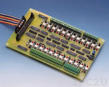 PCLD-782B-AE 24-канальная плата гальванической развязки входных сигналов
