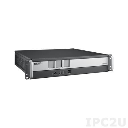 "ITA-2211-10A1E Промышленный безвентиляторный компьютер 2U в 19"" стойку для ж/д, Intel Atom E3845 1.91ГГц, 4Гб DDR3, 1x3.5"" HDD или 2x2.5"" отсеки, VGA/DVI-D, 2xGbE LAN, 7xUSB, 2xCOM, Аудио, 3xITAM, 1xPC/104+, 1xMini PCIe, два разъема питания AC DC"