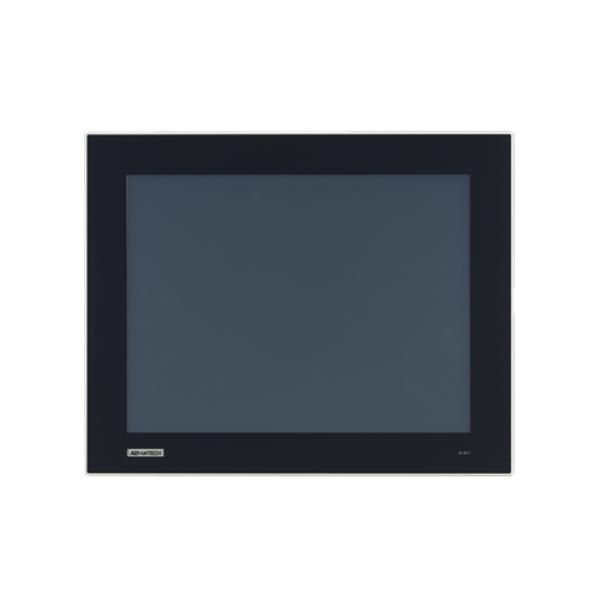"""TPC-1551T-E3BE Безвентиляторная панельная рабочая станция 15"""" TFT LCD LED, плоский резистивный сенсорный экран (IP66), Intel Atom E3845 1.91ГГц, 4Гб DDR3L, 1xCFast, 2xLAN, 2xCOM, 2xUSB, 1xMini PCIe, питание 24В DC"""