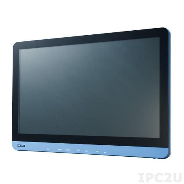 "PDC-WP240-A10-AGE 23.8"" LCD монитор LED, Full HD 1920 x 1080, 250 нит, IP54 со всех сторон, разъемы HDMI/DP/DVI/VGA, Audio, встроенный адаптер питания AC-DC"