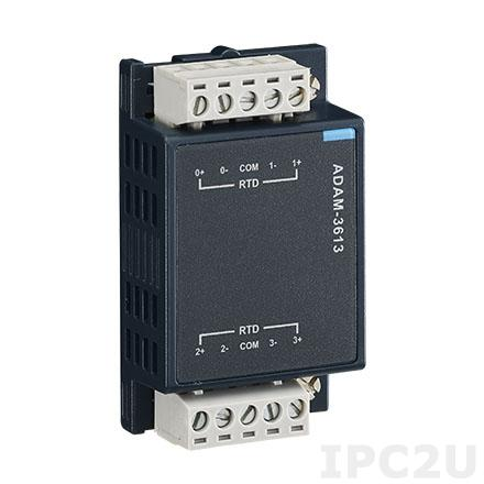 ADAM-3613-AE Модуль ввода, 4 канала RTD (терморезистор)