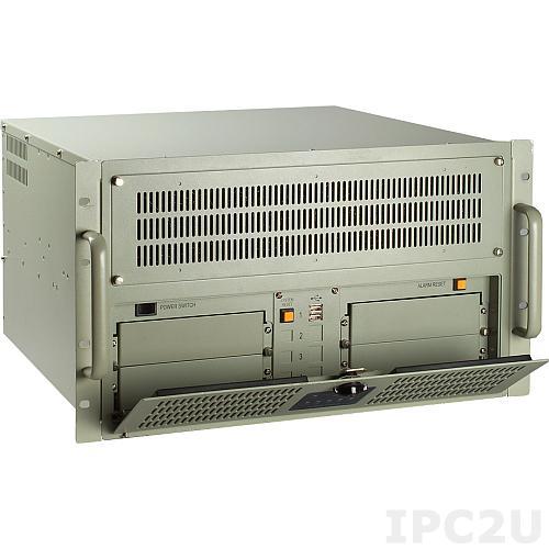 IPC-622BP-00DE 6U корпус для пром ПК/сервера, для плат PICMG/PICMG 1.3, 20 слотов, без БП