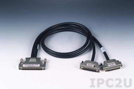 PCL-10268-2E Кабель со 100-контактным и двумя 68-контактными разъемами SCSI, ПВХ, 2 м, до 30 В
