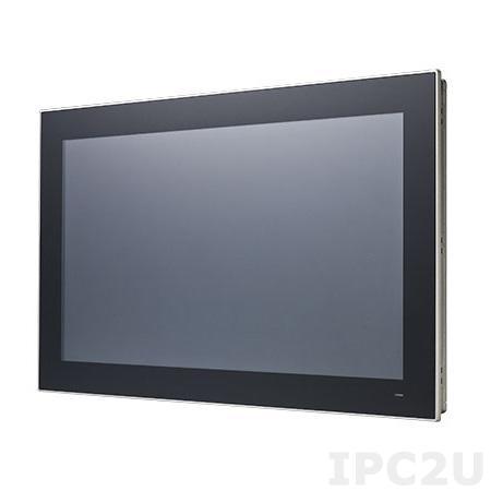 "PPC-3211SW-P65A Панельная рабочая станция с 21.5"" TFT LED, Intel Core i5-6300U 2.4 ГГц, 1xSODIMM DDR4 1866/2133 МГц до 16 Гб, емкостной сенсорный экран, 2xGb LAN, 2xCOM, 4xUSB, mSATA, 1xMini PCIe, питание 12-24В DC"