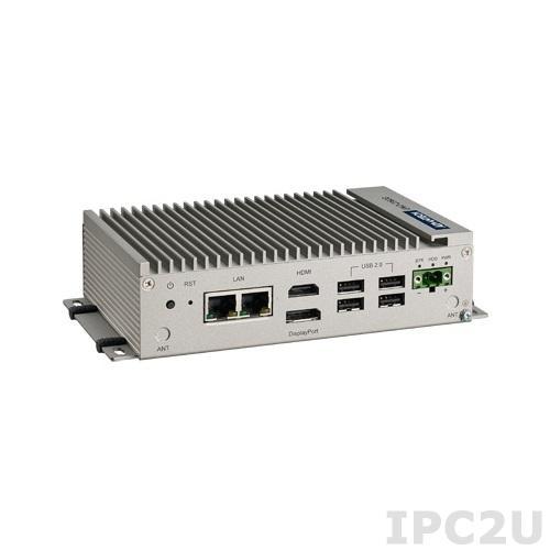 UNO-2362G-T2AE Встраиваемый компьютер c AMD T40E 1.0ГГц, 2Гб DDR3 RAM, DisplayPort, HDMI, 1xGbE, 2xCOM, 4xUSB, 1x mPCIe