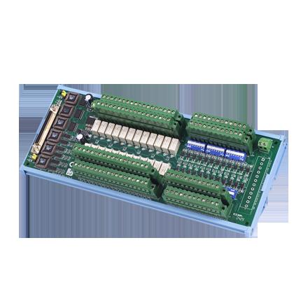 PCLD-8761-AE Плата релейной коммутации, 24 канала реле(120Vac@0.5A, 30Vdc@1A)/24 DI с изоляцией