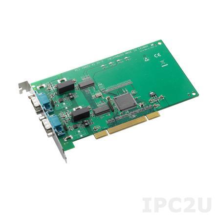PCI-1682U-AE Universal PCI адаптер 2xCAN, 2xDB9 Male c изоляцией, CANopen