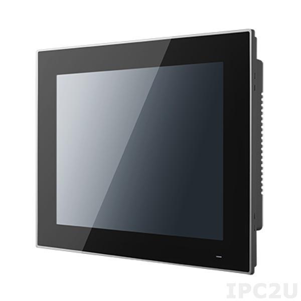 "PPC-3100S-RAE Панельная рабочая станция с 10.4"" TFT SVGA LED, резистивный сенсорный экран, Intel Celeron N2930 1.83ГГц, DDR3L, 2xGb LAN, VGA, 2xCOM, 3xUSB, отсек 1x2.5"" SATA HDD, mSATA, Audio, Mini PCIe, 12-24В DC, IP65 по передней панели"