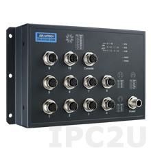 EKI-9510E-2GML-AE Управляемый коммутатор Ethernet, 10 портов M12, питание 24/48В DC, EN50155