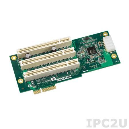 AIMB-R430P-03A2E Объединительная Riser плата PCIe x4 в 3xPCI A201