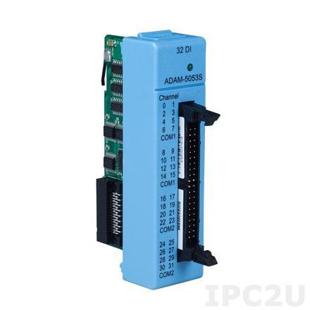 ADAM-5053S-AE Модуль ввода, 32 каналов дискретного ввода с изоляцией