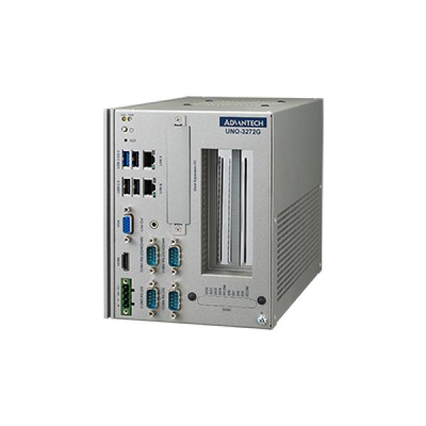 "UNO-3272G-J021AE Встраиваемый компьютер c CPU Intel Celeron J1900 2.0Гц, 4Гб DDR3L RAM, VGA, HDMI, 2xGB LAN, 2xRS-232/422/485, 2xRS-232, 1xUSB 3.0, 3xUSB 2.0, 2x PCIe x1, 1x MiniPCIe, M.2 B-Key, 1x 2.5"" SATA, DIO, Audio, 10...36В DC-in"