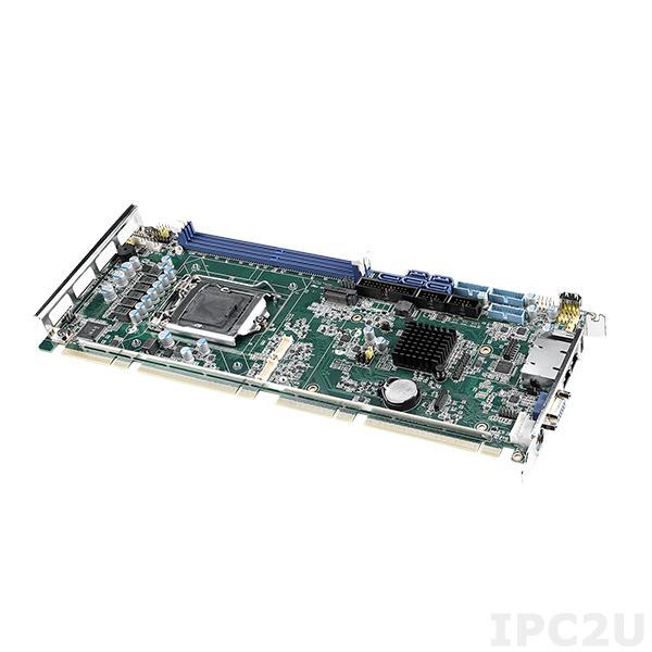 PCE-5131G2-00A1 Процессорная плата PICMG 1.3, разъем LGA1151 для Intel Core i7/i5/i3/Pentium/Celeron, Intel Q370, DDR4, CRT/DP/DVI/VGA, 2xGbE LAN, 7xUSB 2.0, 7xUSB 3.1, 2xCOM, LPT, PS/2, 5xSATA